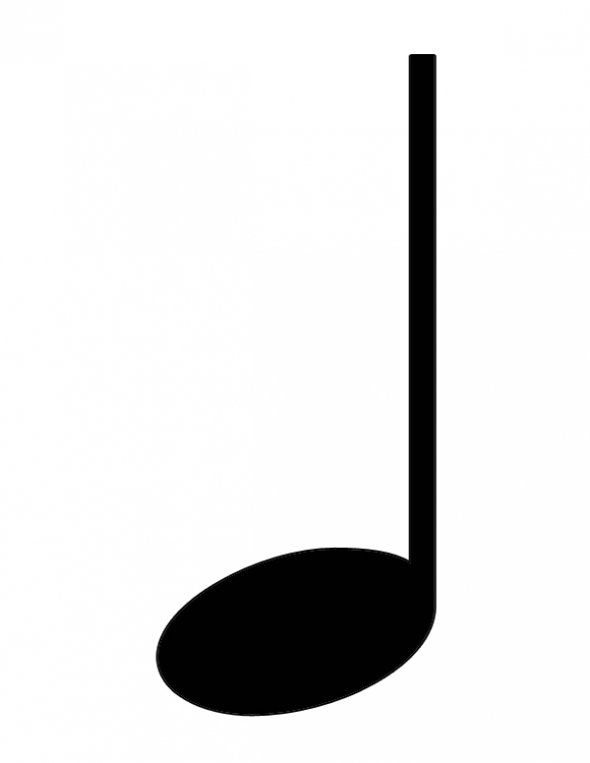 Quarter Note Clip Art - Cliparts.co