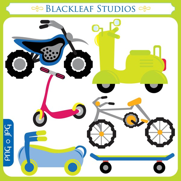 Pictures Of Kids Bikes - Cliparts.co
