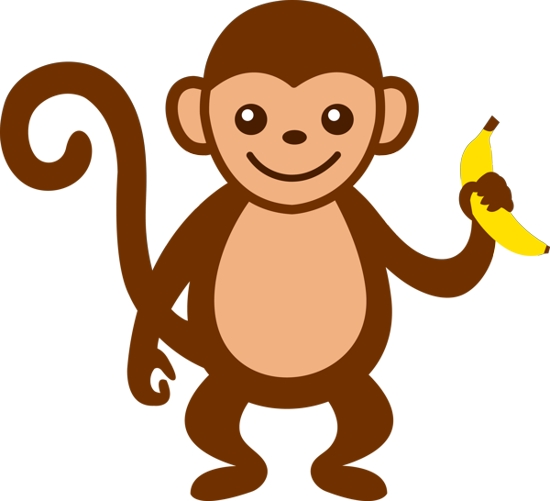 clipart image of monkey - photo #3