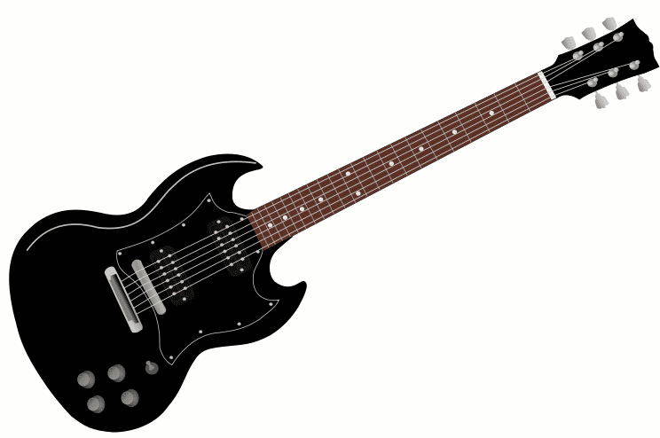 Animated Guitar... Free Guitar Clipart