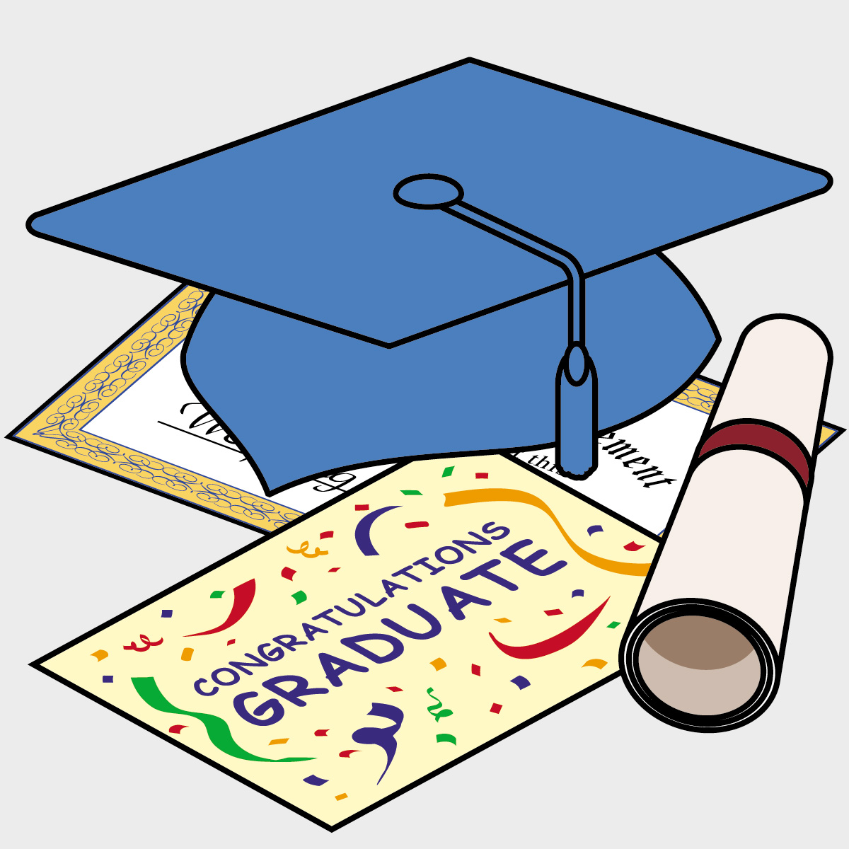 Preschool Graduation Characters Cartoon Images