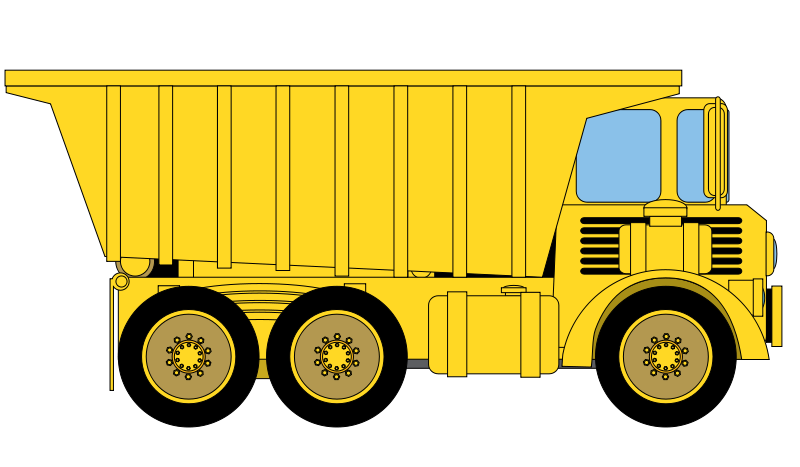 Free to Use & Public Domain Dump Truck Clip Art