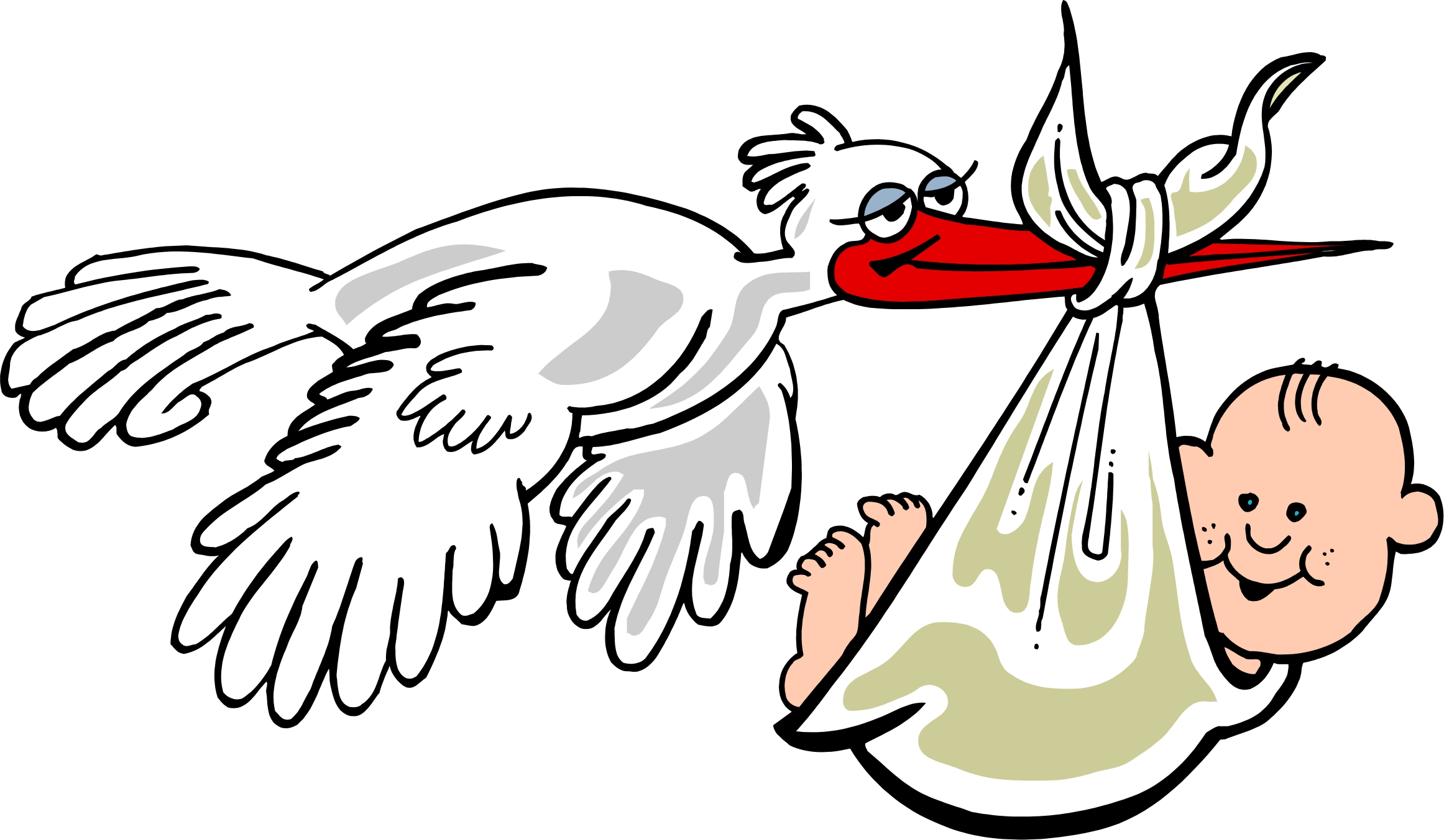 Baby Stork Cartoon - ClipArt Best - ClipArt Best