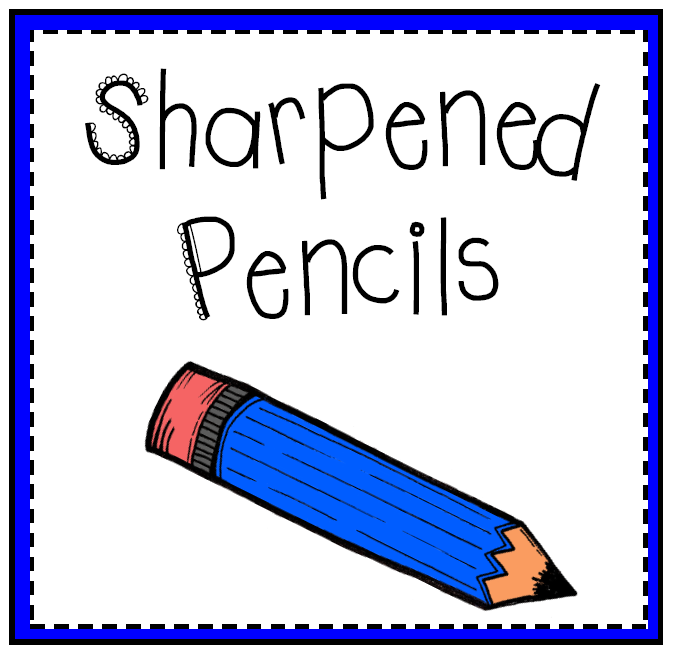 Unsharpened Pencils Clipart Images & Pictures - Becuo