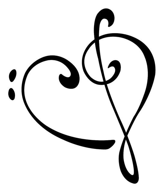 Bass Clef Treble Clef - ClipArt Best