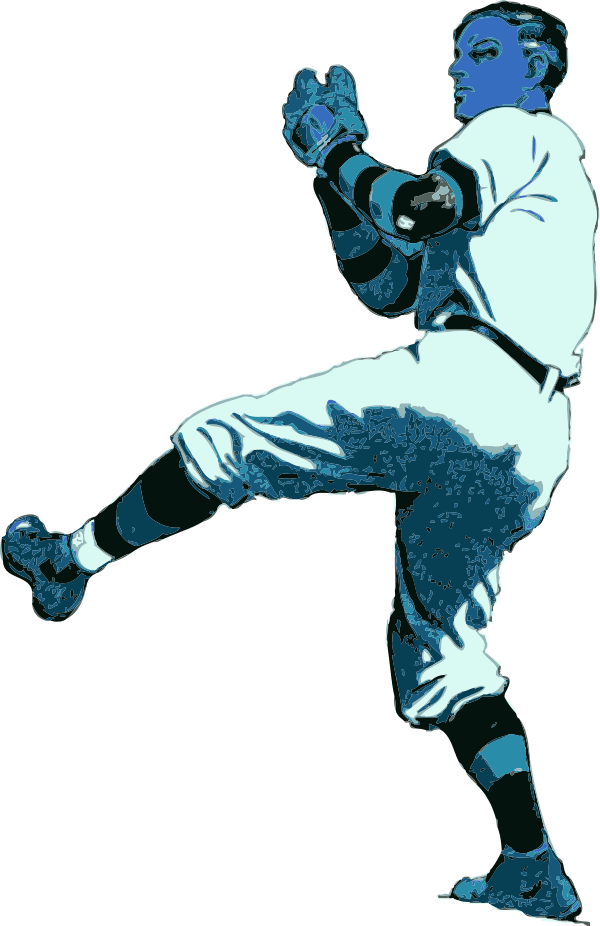 Baseball Pitcher - Color Variation A - Cliparts.co