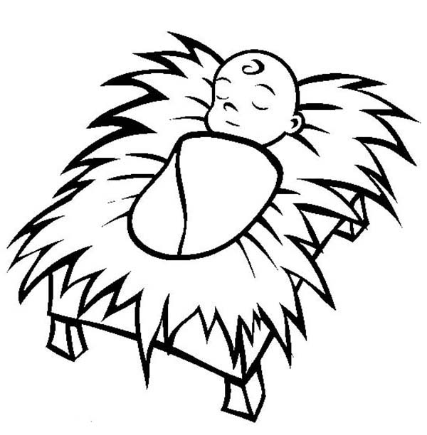 free baby jusus coloring pages - photo#15