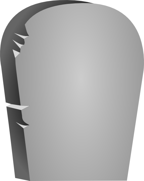 Rounded Tombstone Clip Art at Clker.com - vector clip art online ...