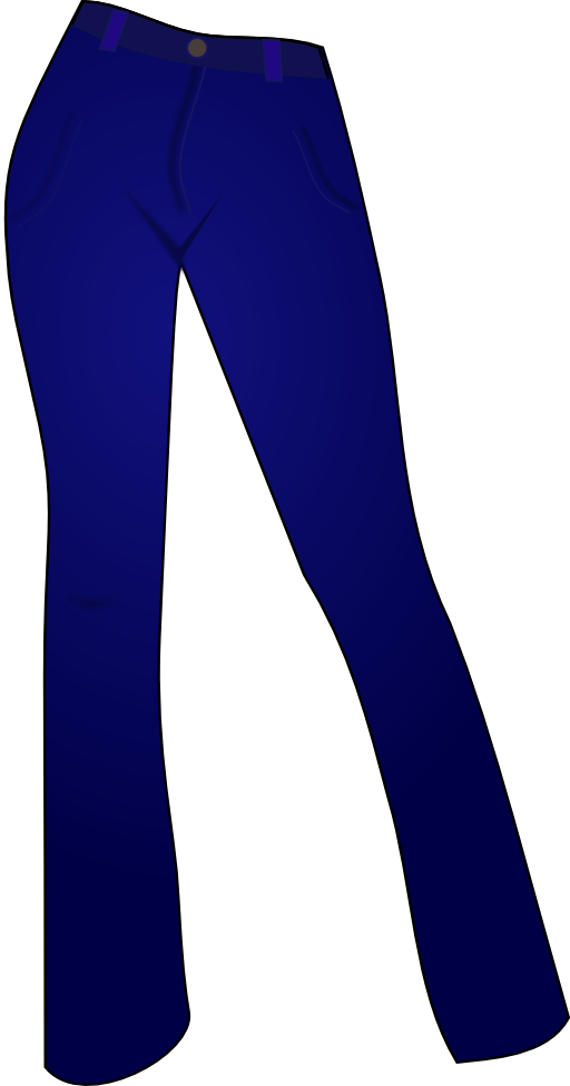 clipart picture of jeans - photo #31
