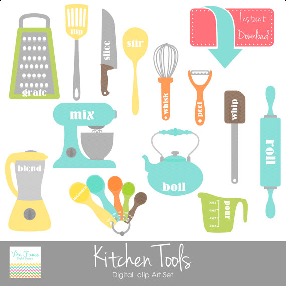 clipart kitchen utensils free - photo #20