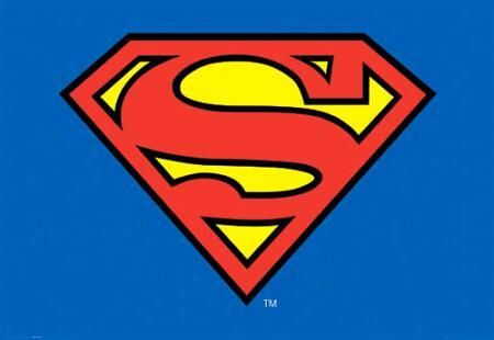 photograph about Supergirl Logo Printable named Printable Superman Brand -