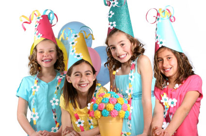 Girls Birthday Party Ideas and Themes - by a Professional Party ...