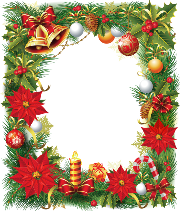 Christmas poinsettia pictures for Poinsettia christmas tree frame