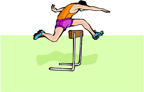 hurdles  Track and Field Unit Track And Field Clipart Hurdles