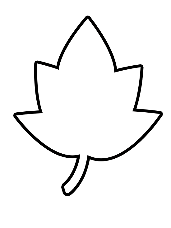 Maple Leaves Coloring Pages | Clipart Panda - Free Clipart Images