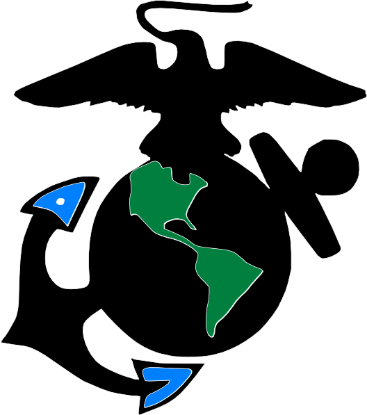 Abstract Usmc Symbol clip art - vector clip art online, royalty ...