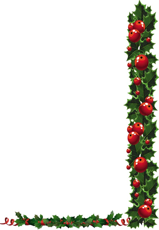 free xmas clipart holly - photo #36