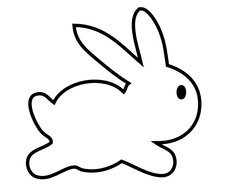 free scrap Easter bunny png's and digital stamp – Osterhase ...
