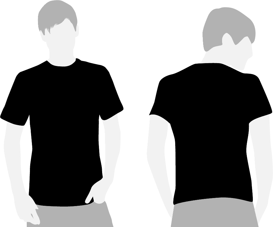 Shirt Blank Template And Pockets Download Royalty Free Vector ...