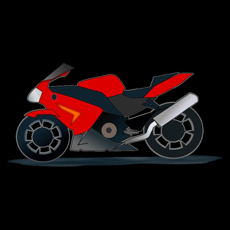 motor cycle clip art clipartsco