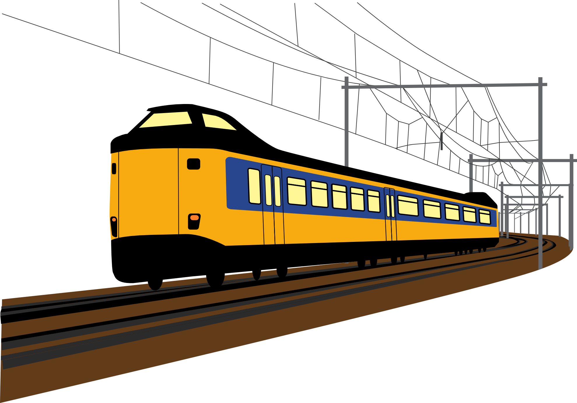 Train Vector Art - Cliparts.co