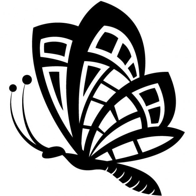 Butterfly Silhouette Clip Art - Cliparts.co