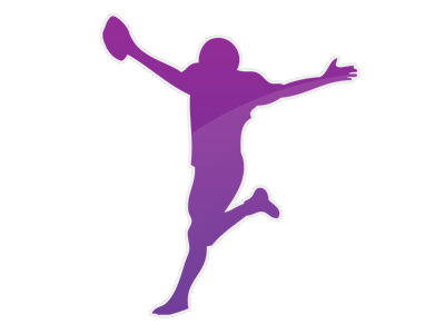 Nfl Football Player Running | Clipart Panda - Free Clipart Images