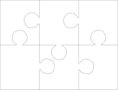 Printable 6 Piece Jigsaw Puzzles