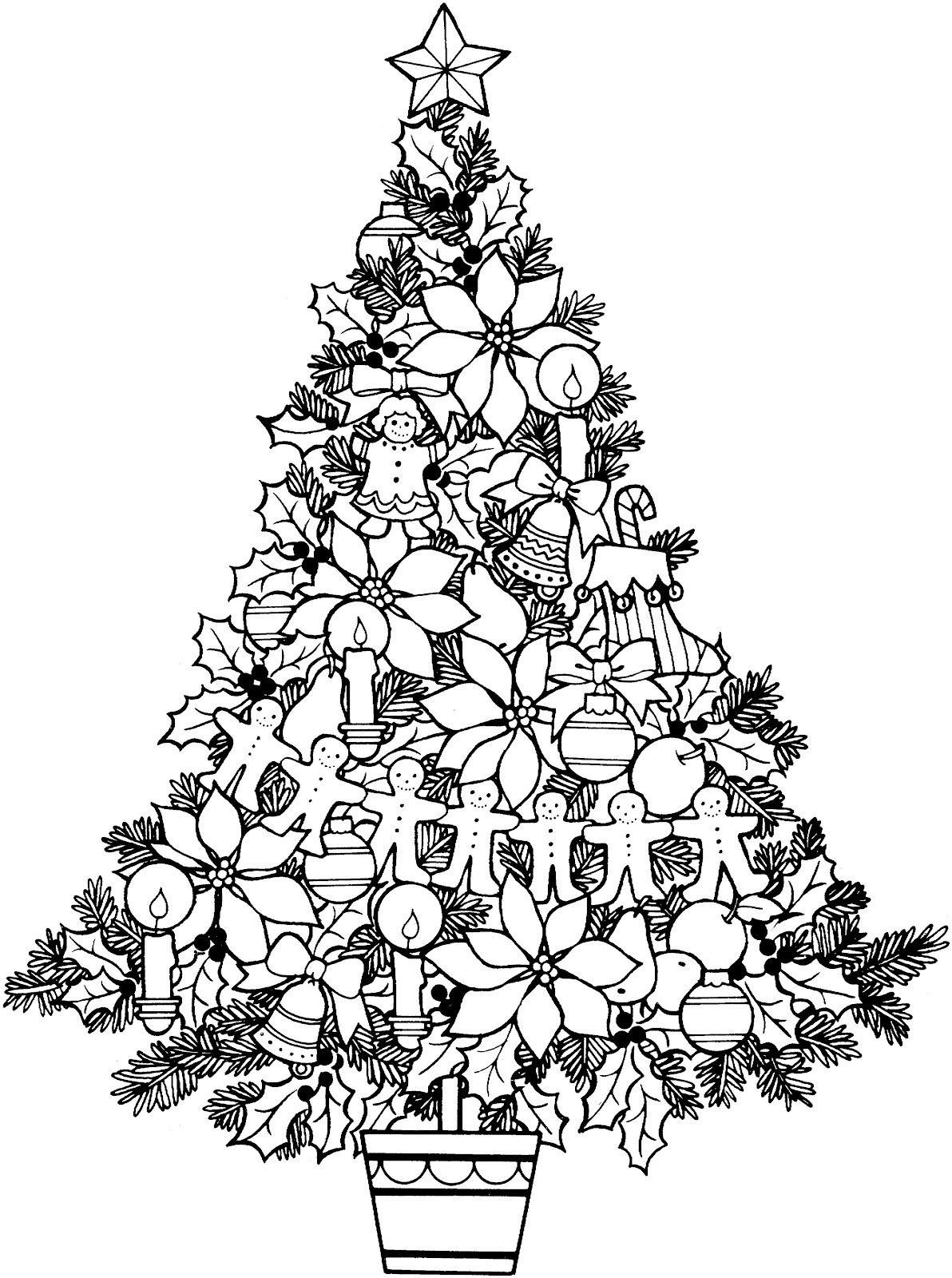 black and white free photos - Christmas Black And White
