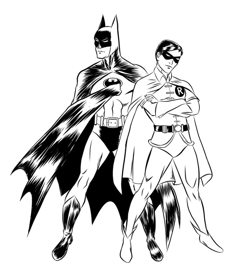 It's just a picture of Witty Printable Batman Coloring Pages