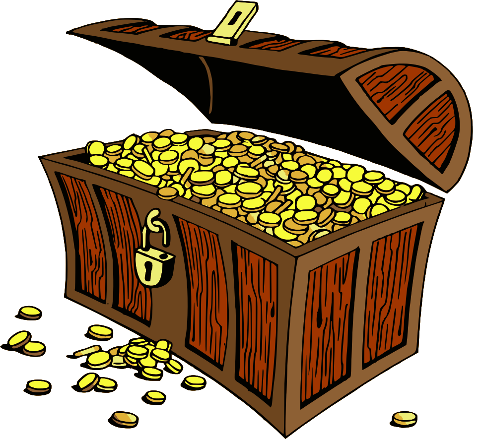 Treasure Chest Gold Clip Art Download