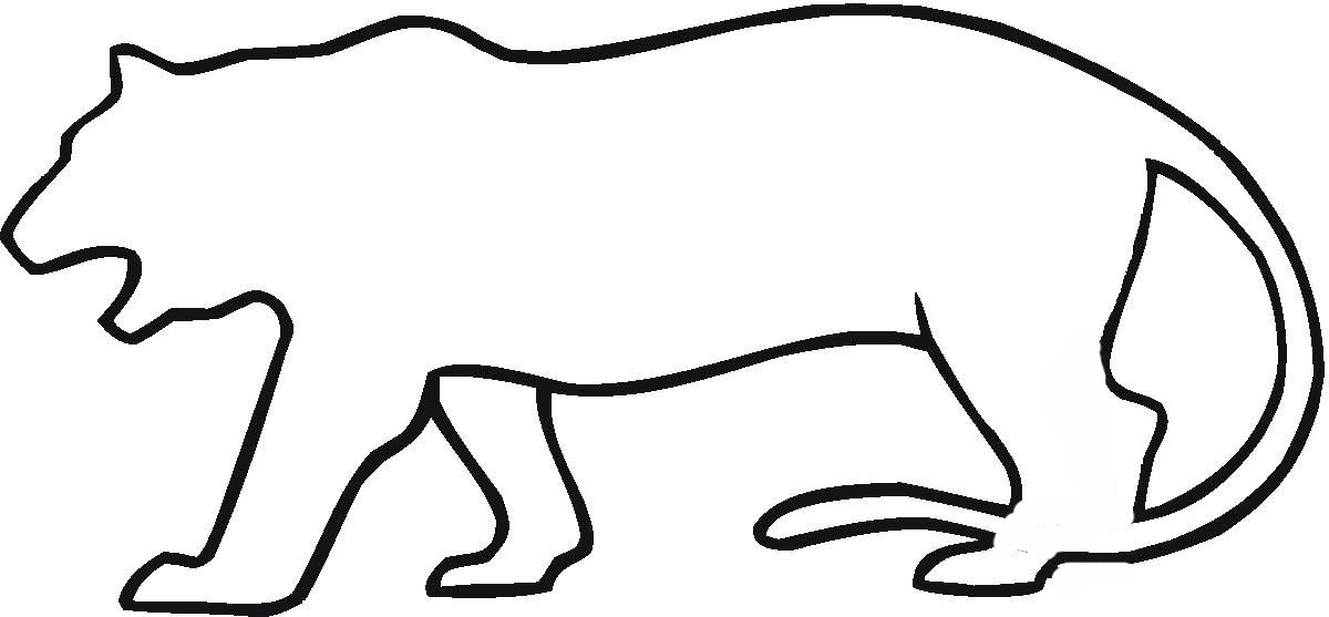 Cat Head Outline - Cliparts.co