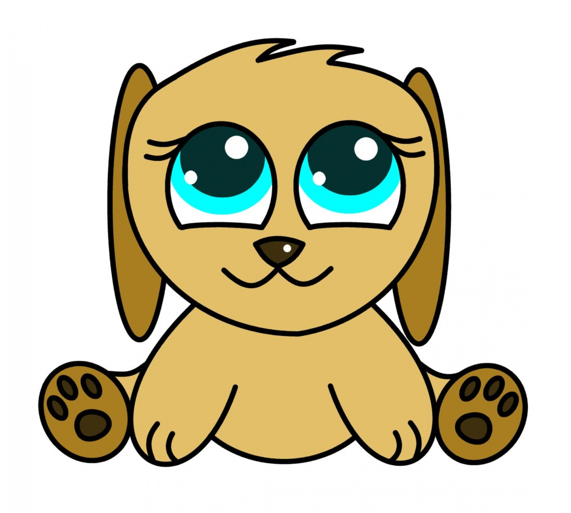 Puppy Cartoon Pictures - Cliparts.co