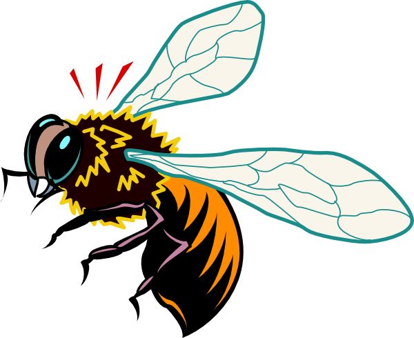 vintage bee clip art - photo #27