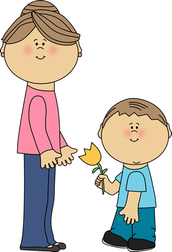 free clip art mother child - photo #24
