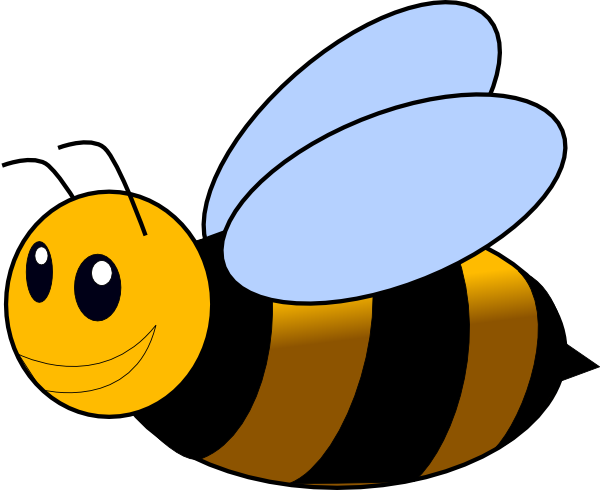 Bumble Bee clip art - vector clip art online, royalty free ...
