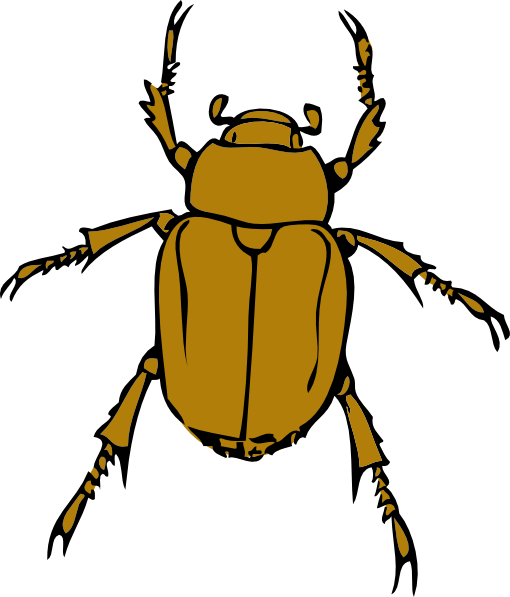 Beetle Bug clip art - vector clip art online, royalty free ...
