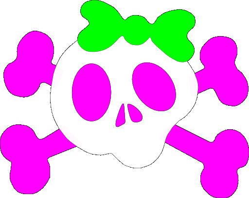 Girly Skulls - ClipArt Best