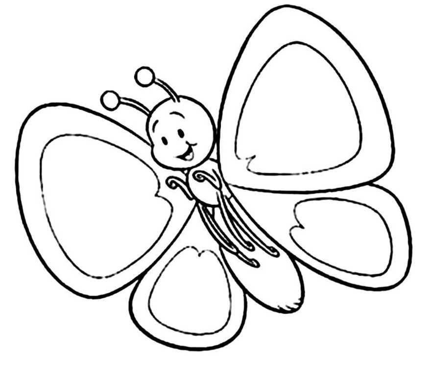 Sunflower Coloring Pages For Kids   Coloring Pages For Kids ...