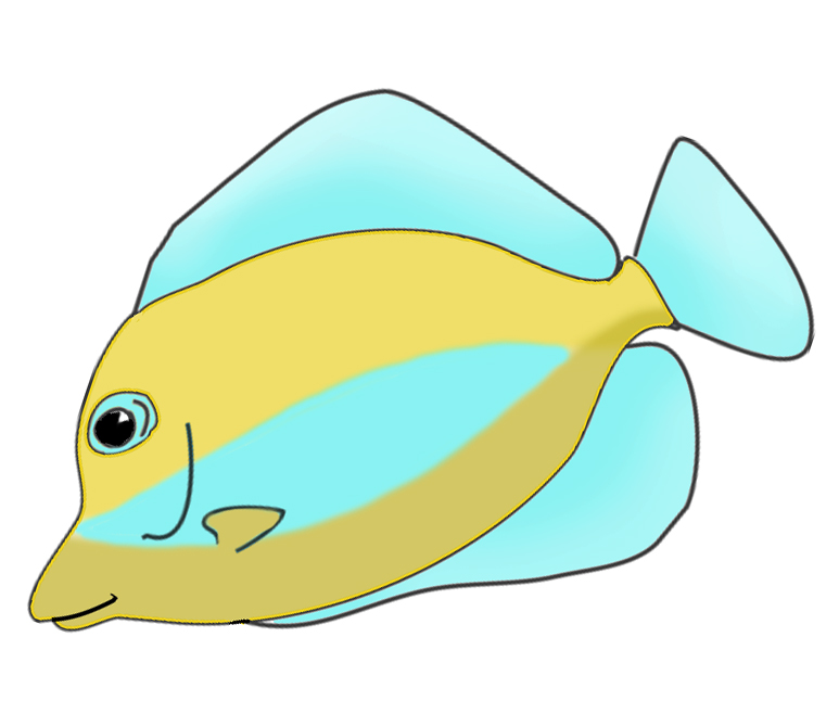 fish clipart drawing - photo #18