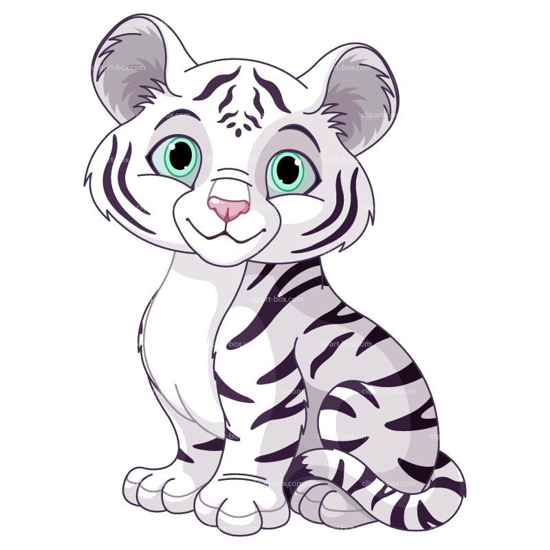 Tiger Cub Cartoon - Cliparts.co