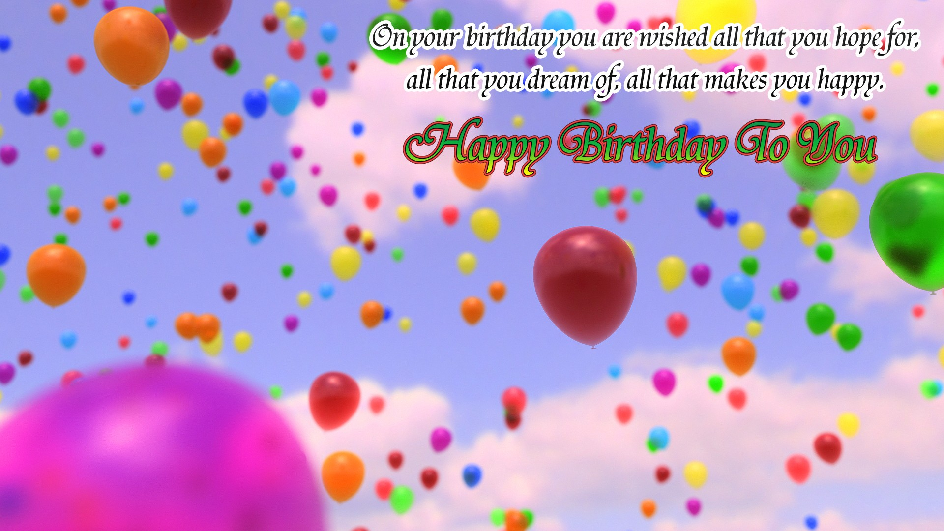 Cute Happy Birthday Pic - Cliparts.co
