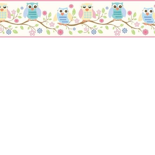 Pink Owl Baby Room