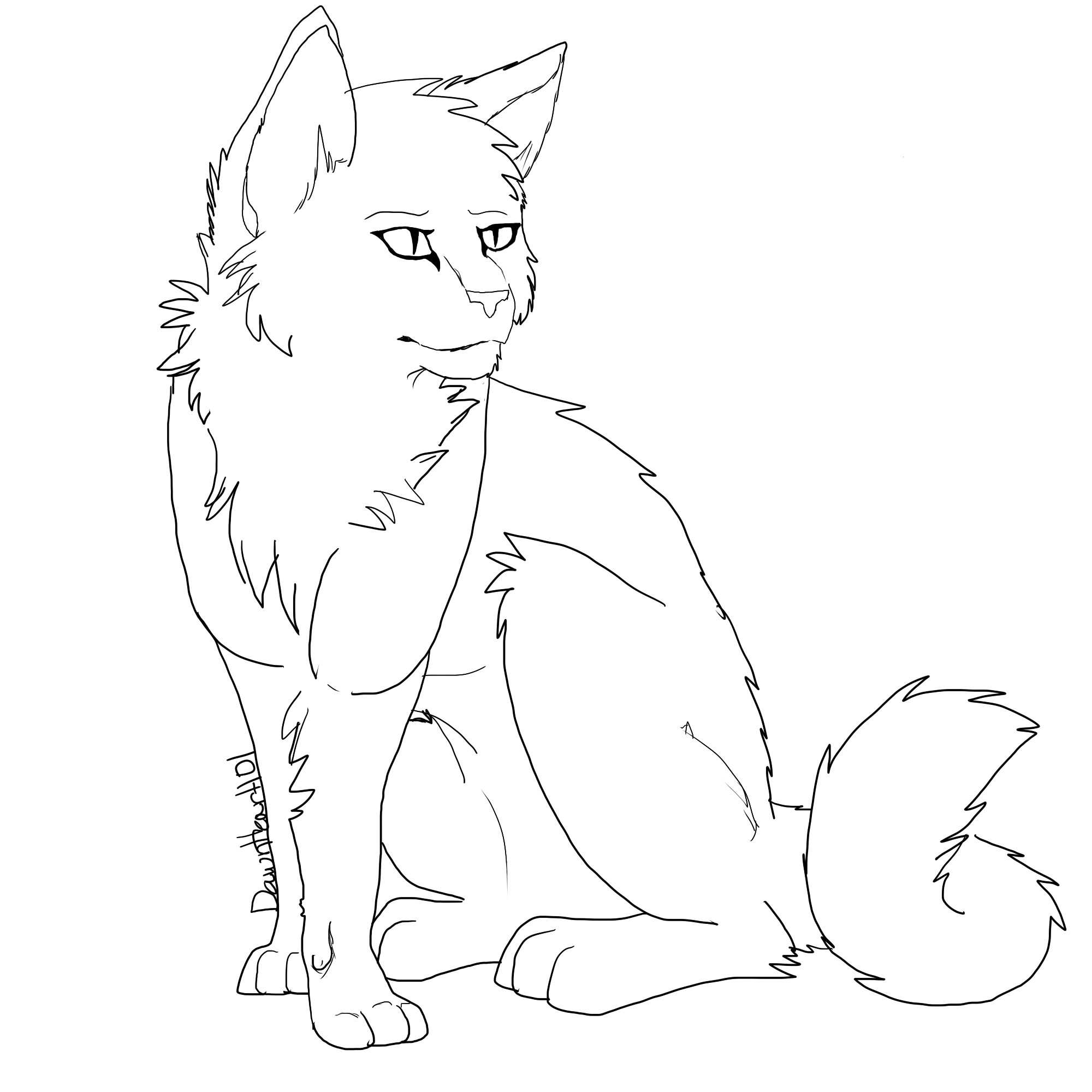 cat coloring pages realistic cat - photo#16