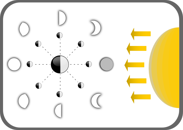 Moon Phases Clip Art - Cliparts.co