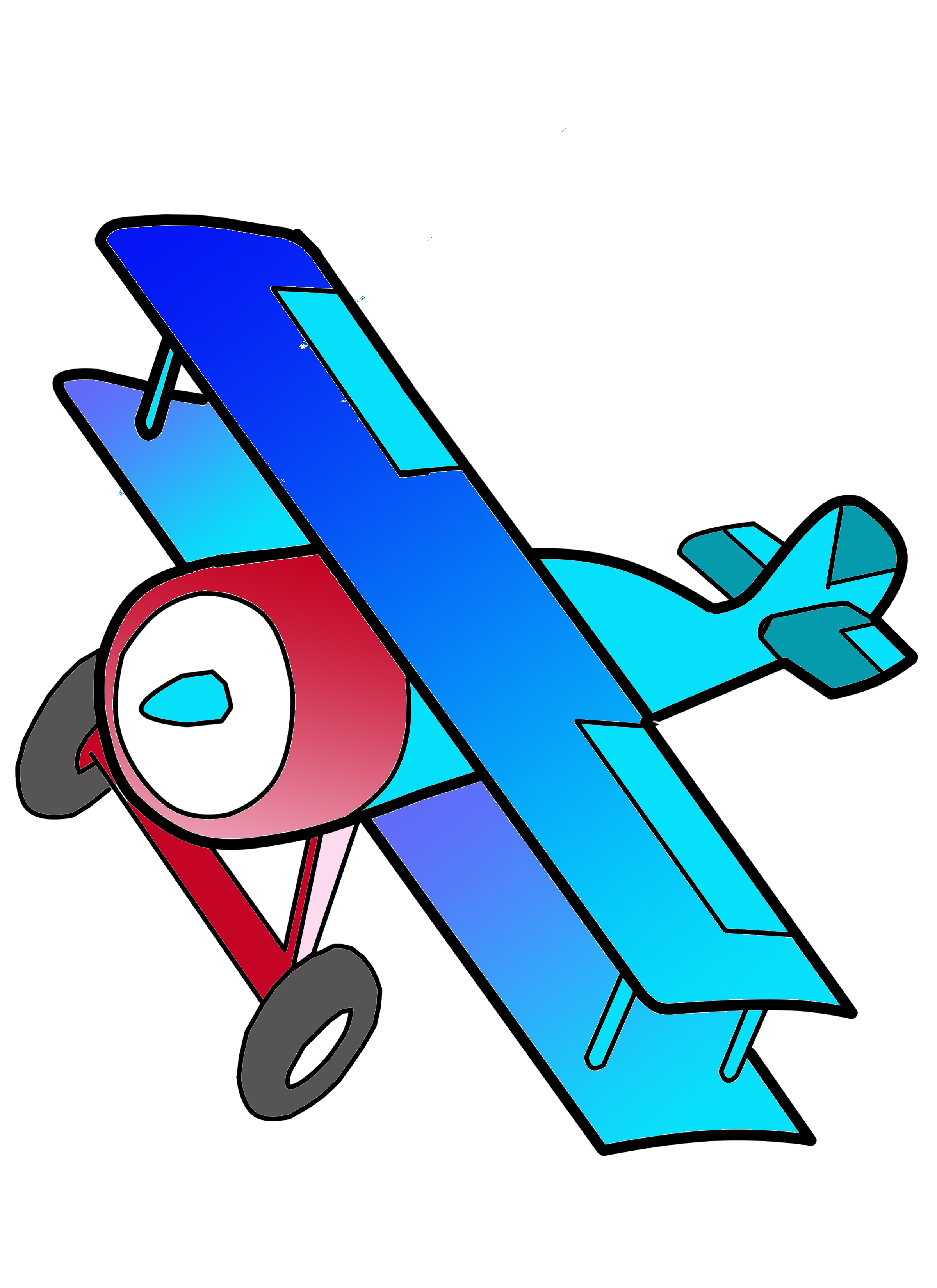 Biplane Clipart Free