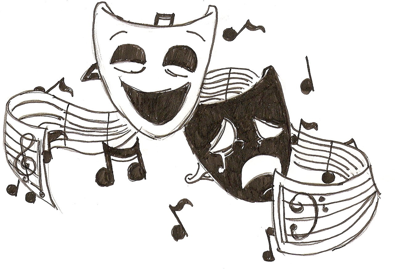Cartoon Drama Masks Free Cliparts That You Can Download To Icon ...