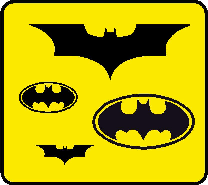 Batman Wall Graphic Kit - Custom Wall Graphics
