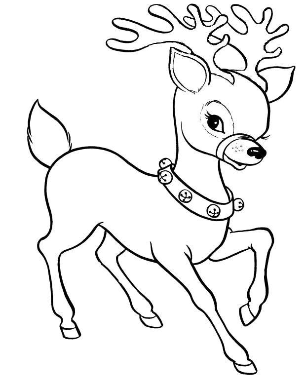 Christmas Reindeer Picture - Cliparts.co