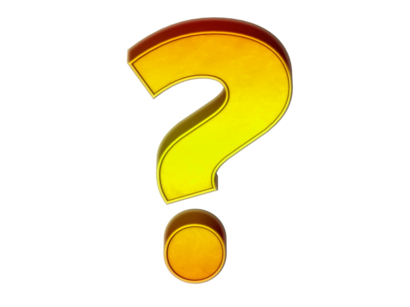The Wrong Question - How  Yellow Question Marks